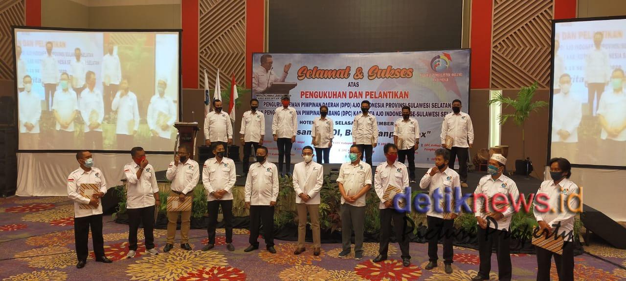 Teks foto : DPD AJO Indonesia Provinsi Sulsel