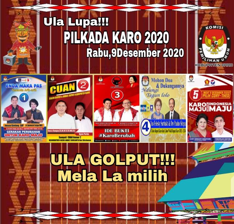 Info KPU Karo